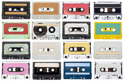 Music audio tape vintage Royalty Free Stock Image