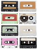 Music audio tape vintage Royalty Free Stock Photography