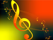 Music of Autumn Royalty Free Stock Photography