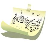 Music background. Royalty Free Stock Images