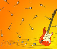 Music background Stock Image