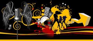 Music background. Stock Image