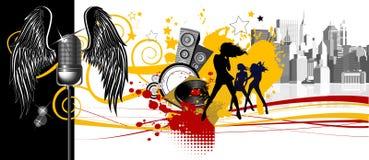 Music background. Royalty Free Stock Photo