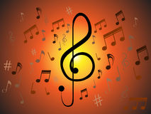 Music Background Royalty Free Stock Image