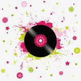 Music Background Royalty Free Stock Photography