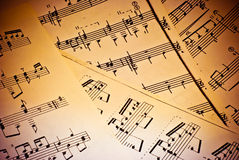 Music background. Of classical notes Royalty Free Stock Image