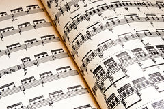 Music background. Of classical notes Royalty Free Stock Photography