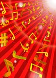 Music background Royalty Free Stock Images