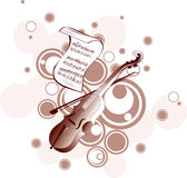 Music  background Royalty Free Stock Image