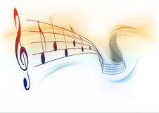 Music background Royalty Free Stock Photo