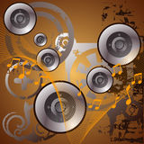 Music background. Illustration drawing of music background Stock Illustration