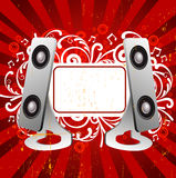 Music background. Illustration drawing of music background Royalty Free Illustration