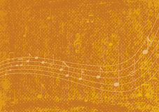 Music background. Vector illustration Musical notes on texture background Royalty Free Illustration