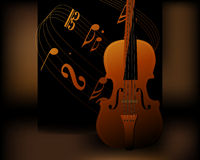 Music Background. Harmoy between music and color Royalty Free Stock Photography