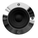 Music background. A computer generaed image of a music speaker stock illustration