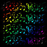 Music background Stock Images