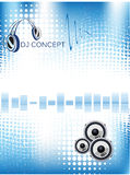 Music background concept Royalty Free Stock Photography