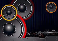 Music background design Royalty Free Stock Photo