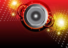 Music background design Stock Image