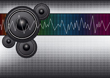 Music background design Stock Photos