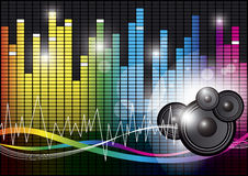Music background design Royalty Free Stock Images