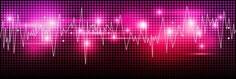 Music background design Stock Image