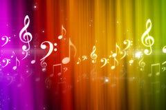 Music background. Digital illustration of music background Stock Photos