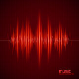 Music background with equalizer Stock Photo