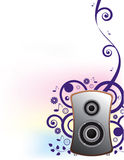 Music background vector Stock Photography