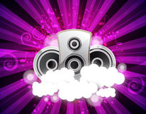 Music background vector Stock Images