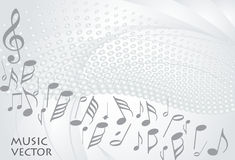 Music background vector royalty free illustration