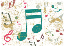 Music background vector Royalty Free Stock Images