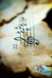 Music Background.Vintage. Stock Photos