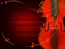 Music background with violin Royalty Free Stock Images