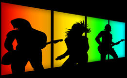 Music band Royalty Free Stock Photo