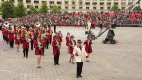 Music Band from Croatia Stock Photography