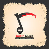 Music band logo design suitable for rock, metal etc Royalty Free Stock Photo