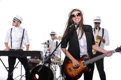 Music Band Royalty Free Stock Photos