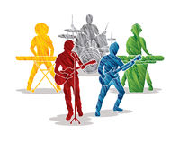 Music Bands graphic vector vector illustration