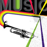 Music banner Stock Photos