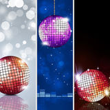Music Banners Royalty Free Stock Images