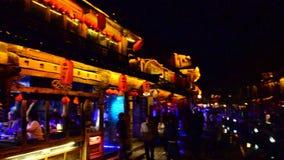 The Music Bar in Lijiang stock video