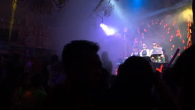 The Music Bar in Lijiang stock video footage