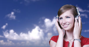 Music on a beautiful day Royalty Free Stock Photography