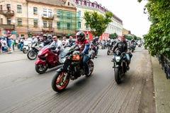 Music Bike Ukraine 2016 Royalty Free Stock Photo