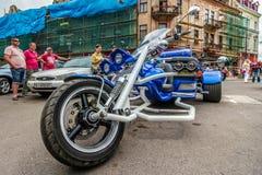 Music Bike Ukraine 2016 Royalty Free Stock Image