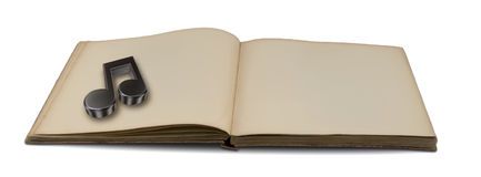 Music book Stock Image