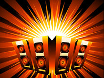 Music burst Stock Image