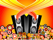 Music burst Royalty Free Stock Photo