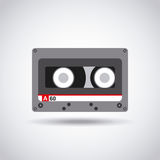 Music casette icon Royalty Free Stock Images